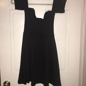 Little black skater dress